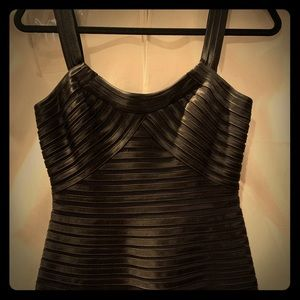 BCBG Max Azria Black Bandage Dress